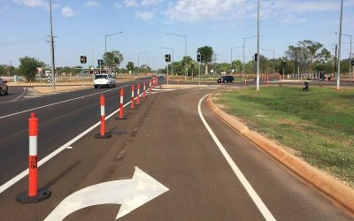New Traffic Lights Bicentennial Road, Katherine